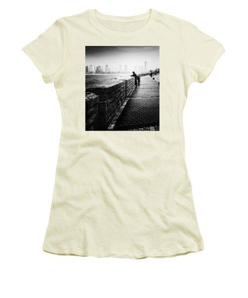 Jaffa Port Women's T-Shirt (Junior Cut) by Hayato Matsumoto