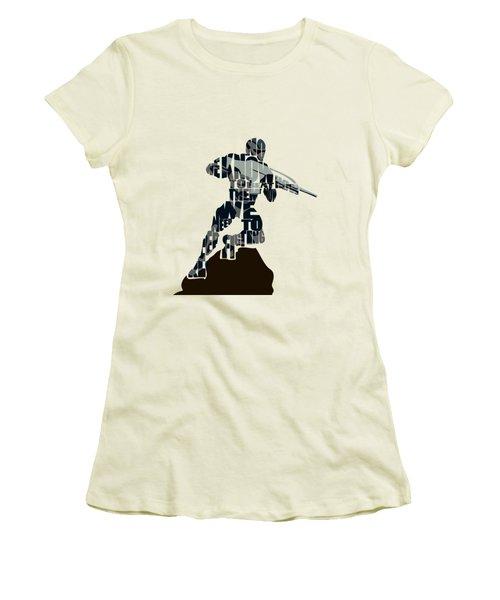 Jake Nomad Dunn Women's T-Shirt (Junior Cut) by Ayse Deniz