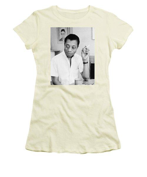 James Baldwin (1924-1987) Women's T-Shirt (Athletic Fit)