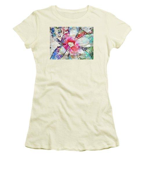 Japanese Magnolia  Women's T-Shirt (Athletic Fit)
