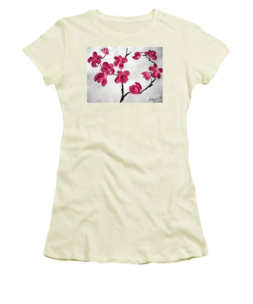 Japanese Tree Women's T-Shirt (Athletic Fit)