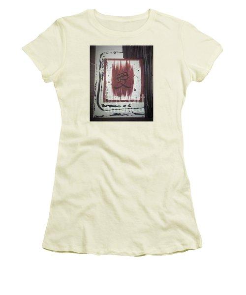 Japaness Love Women's T-Shirt (Junior Cut) by Talisa Hartley