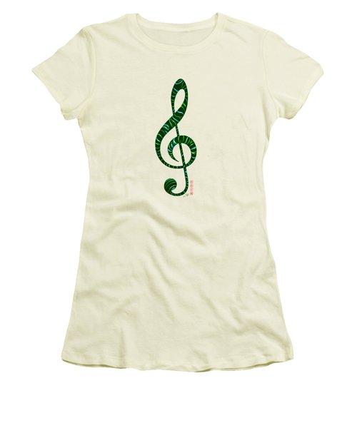 Jazz T Women's T-Shirt (Athletic Fit)