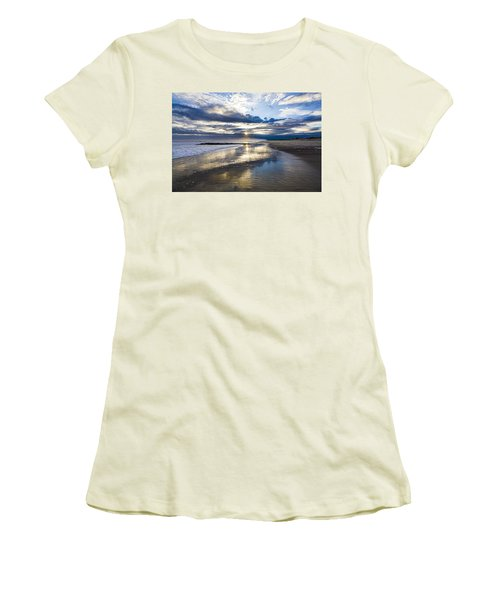 Jetty Four Sunset Women's T-Shirt (Athletic Fit)