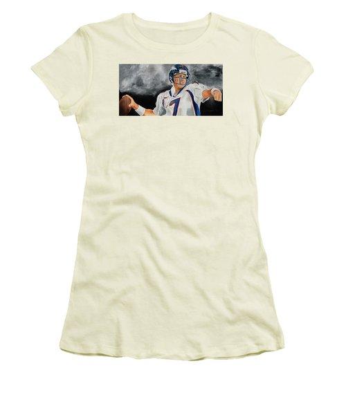 John Elway 2  Women's T-Shirt (Athletic Fit)