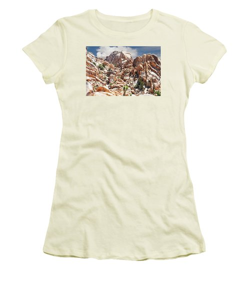 Joshua Tree National Park - Natural Monument Women's T-Shirt (Athletic Fit)