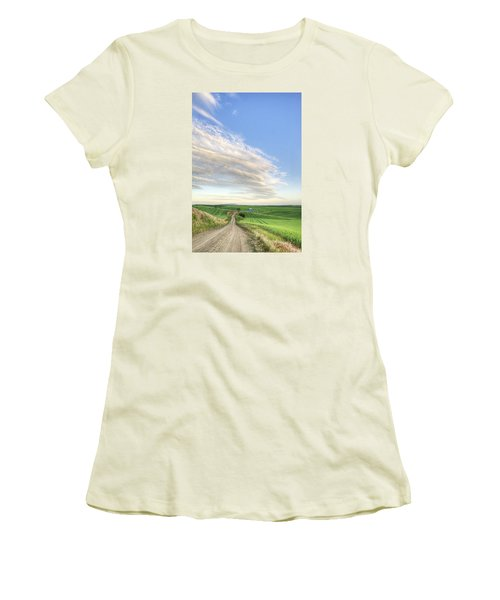 June Afternoon Women's T-Shirt (Athletic Fit)