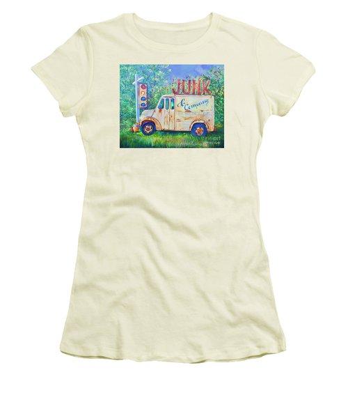 Junk Truck Women's T-Shirt (Athletic Fit)