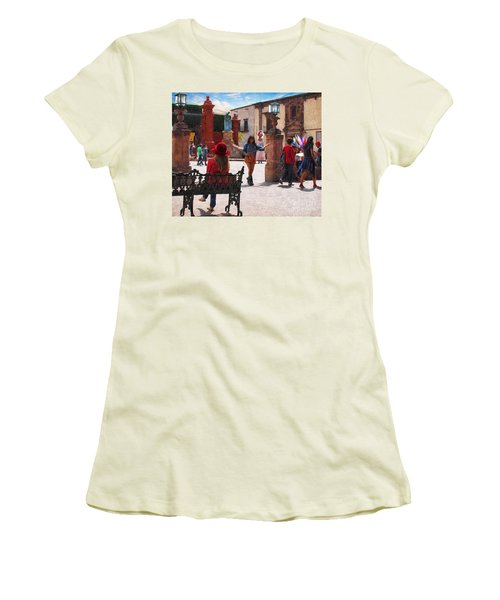 Just Before The Wedding Women's T-Shirt (Athletic Fit)