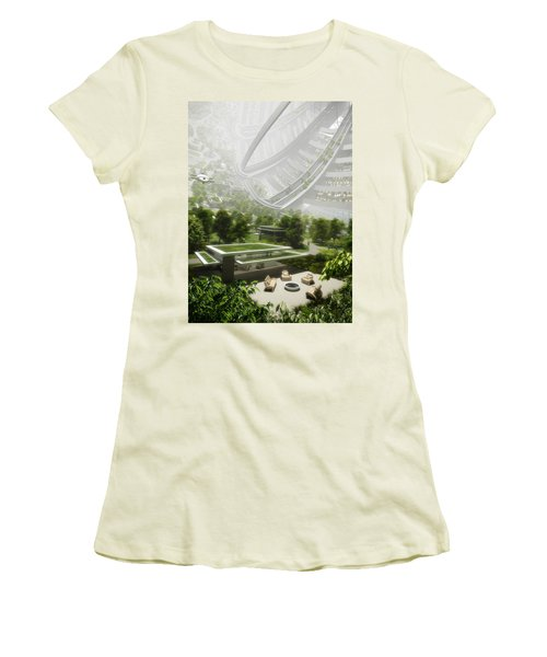 Kalpana One Houseing Women's T-Shirt (Athletic Fit)