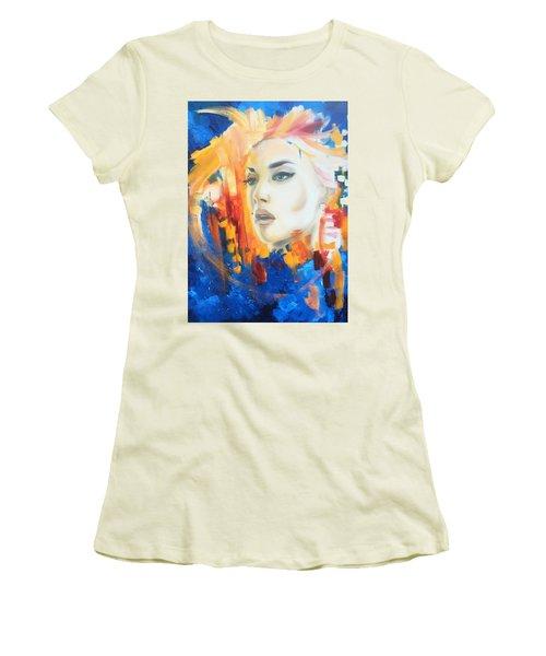 Kate Winslet Women's T-Shirt (Junior Cut) by Matt Burke
