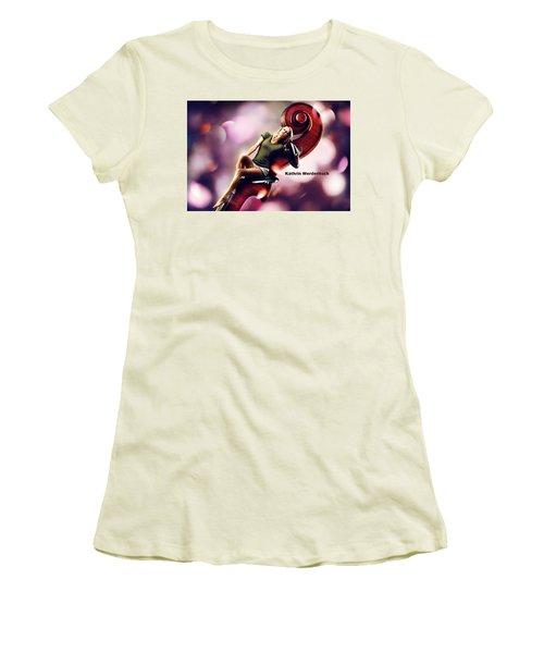 Kathrin Werderitsch Women's T-Shirt (Athletic Fit)