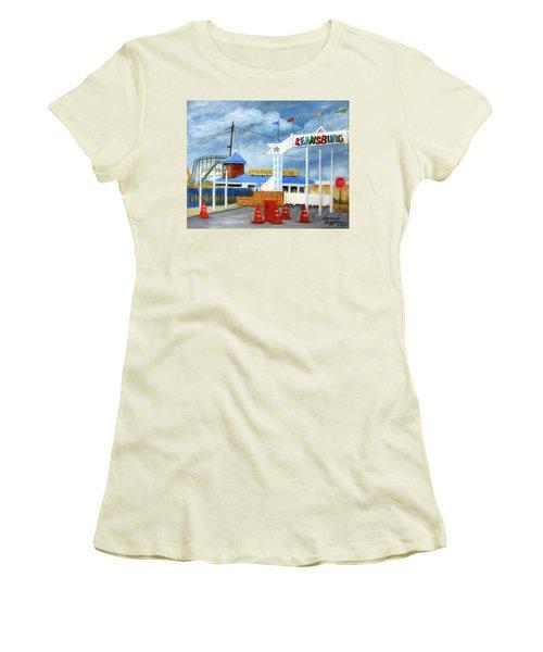 Keansburg Amusement Park Women's T-Shirt (Athletic Fit)