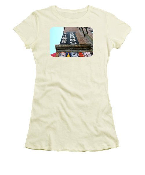 Women's T-Shirt (Junior Cut) featuring the photograph Keefer Rooms by Ethna Gillespie