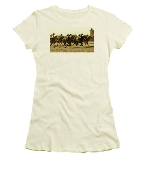 Keenland Sepia Women's T-Shirt (Athletic Fit)