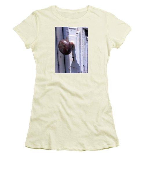 Keyhole Women's T-Shirt (Junior Cut) by Steve Godleski