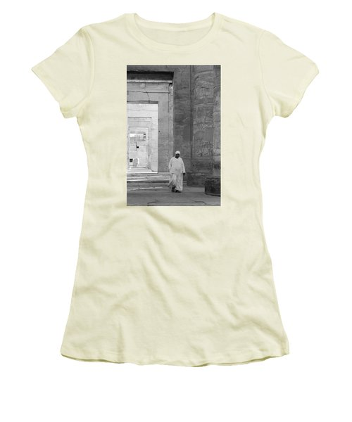 Kom Ombo Temple Women's T-Shirt (Athletic Fit)