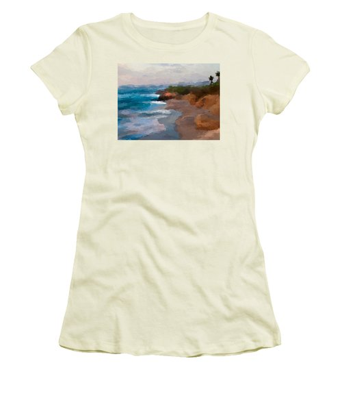 La Jolla California  Women's T-Shirt (Athletic Fit)