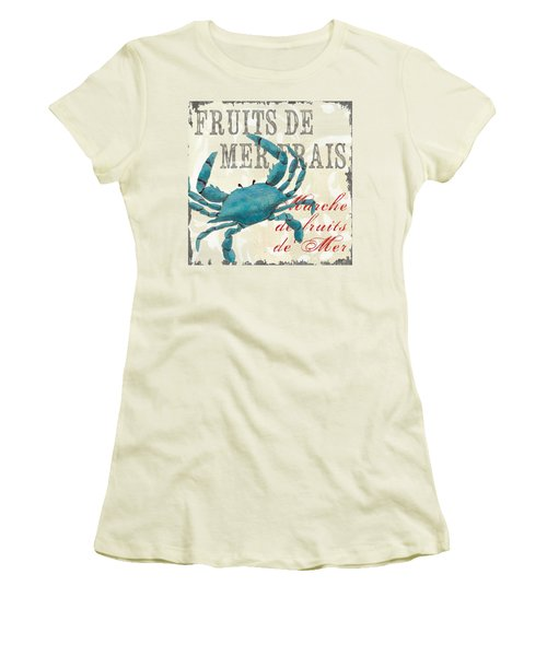 La Mer Shellfish 1 Women's T-Shirt (Athletic Fit)