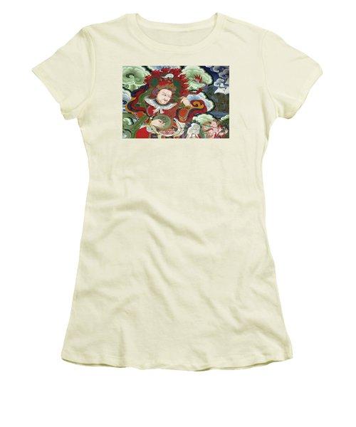 Women's T-Shirt (Junior Cut) featuring the photograph Ladakh_17-5 by Craig Lovell
