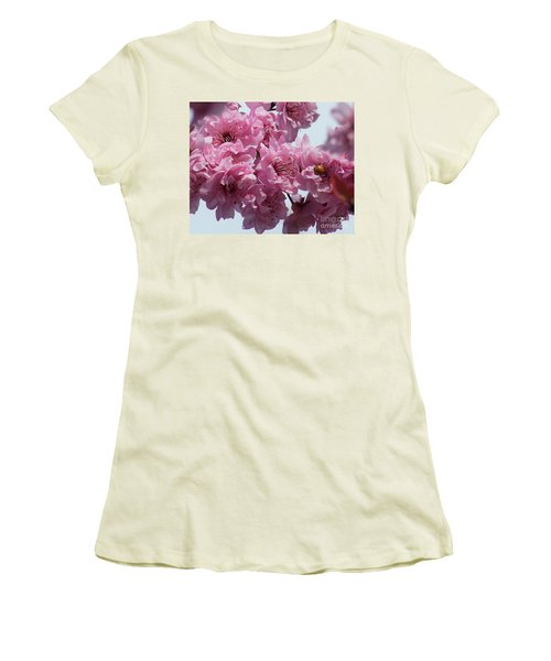 Women's T-Shirt (Junior Cut) featuring the photograph Lady Bug by Victor K