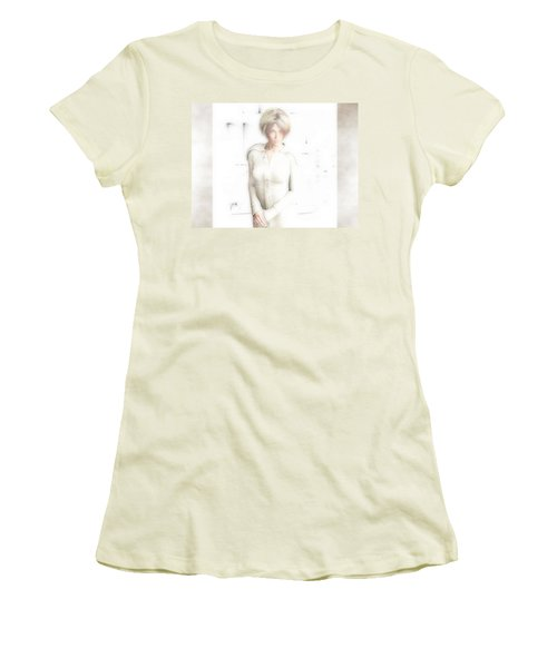 Lady In White Women's T-Shirt (Athletic Fit)