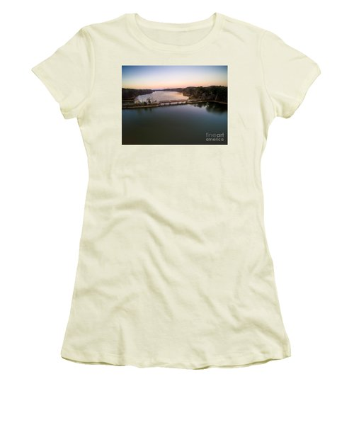Lake Purdy At Grants Mill Women's T-Shirt (Athletic Fit)