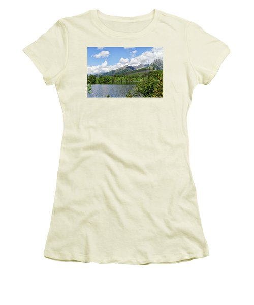 Lake Shtrbske  Women's T-Shirt (Athletic Fit)