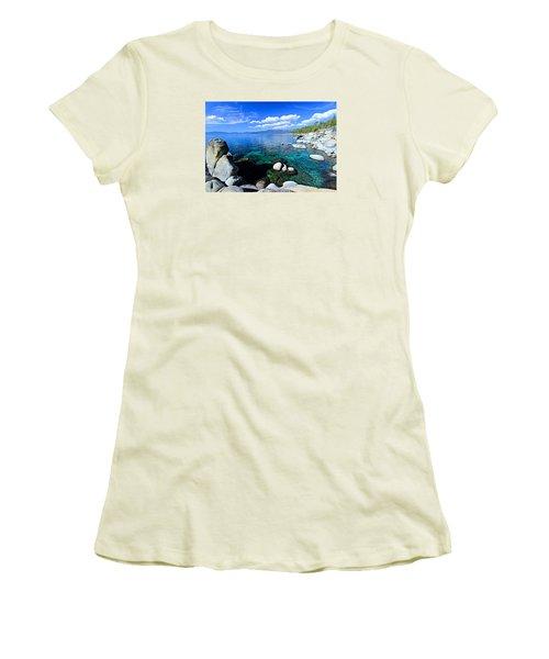 Lake Tahoe Summer Treasure Women's T-Shirt (Athletic Fit)