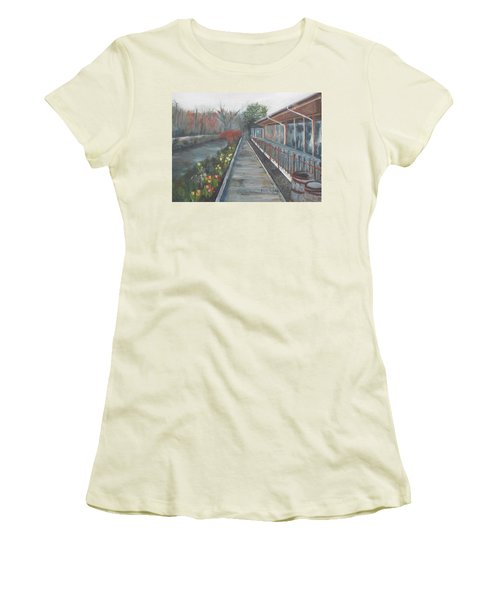 Lambertville Rr #1 Women's T-Shirt (Athletic Fit)