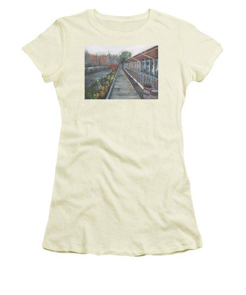 Lambertville Rr #1 Women's T-Shirt (Athletic Fit)