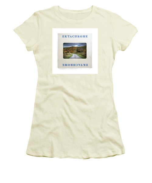 Landscape In Ektachrome Women's T-Shirt (Athletic Fit)