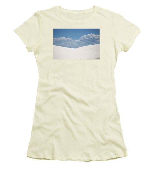 Landscapes Of White Sands 11 Women's T-Shirt (Athletic Fit)
