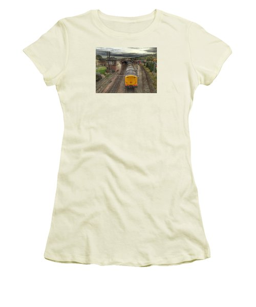 Last Train To Manuel Women's T-Shirt (Junior Cut) by RKAB Works