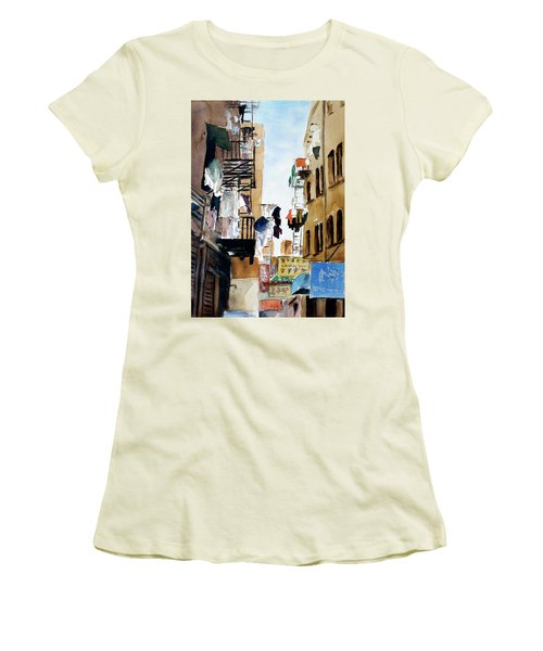 Laundry Day Women's T-Shirt (Junior Cut) by Tom Simmons