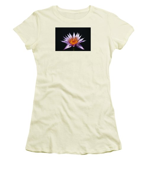 Lavender Fire 1 Women's T-Shirt (Athletic Fit)