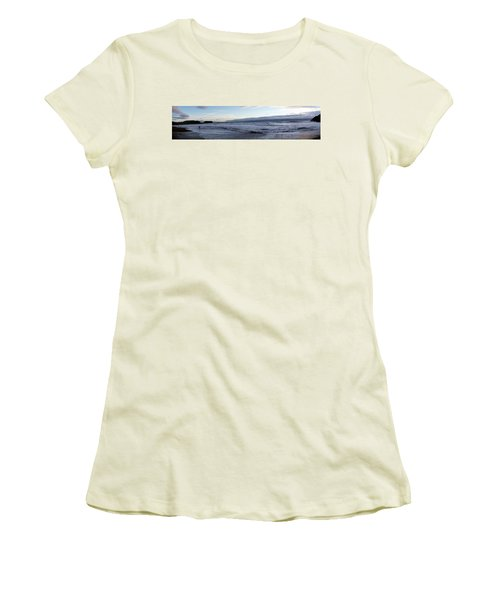 Leading Edge Women's T-Shirt (Junior Cut) by Michael Courtney
