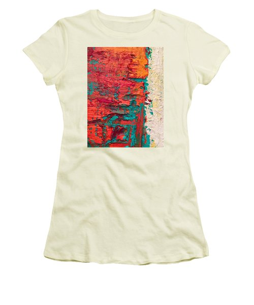 Learning Curve One Women's T-Shirt (Junior Cut) by Heather Roddy