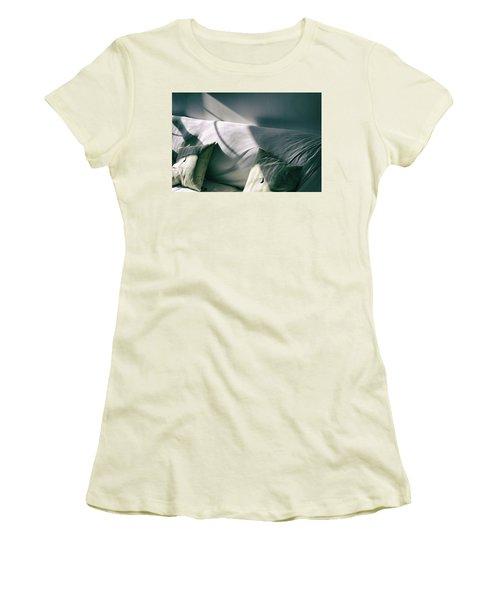 Leftover Light Women's T-Shirt (Junior Cut) by Steven Huszar