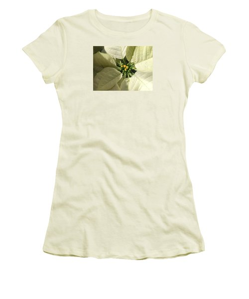 Legend Of The Poinsettia  Women's T-Shirt (Athletic Fit)