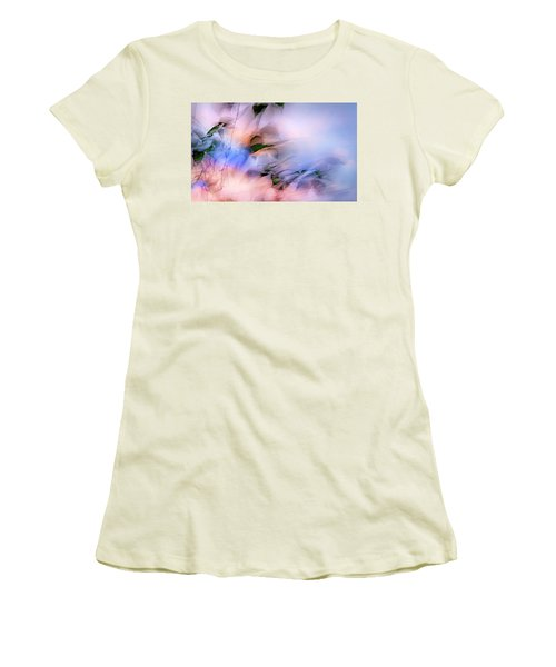 Women's T-Shirt (Junior Cut) featuring the photograph Let The Winds Of The Heavens Dance by Theresa Tahara