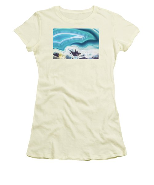 Level-22 Women's T-Shirt (Junior Cut) by Ryan Weddle