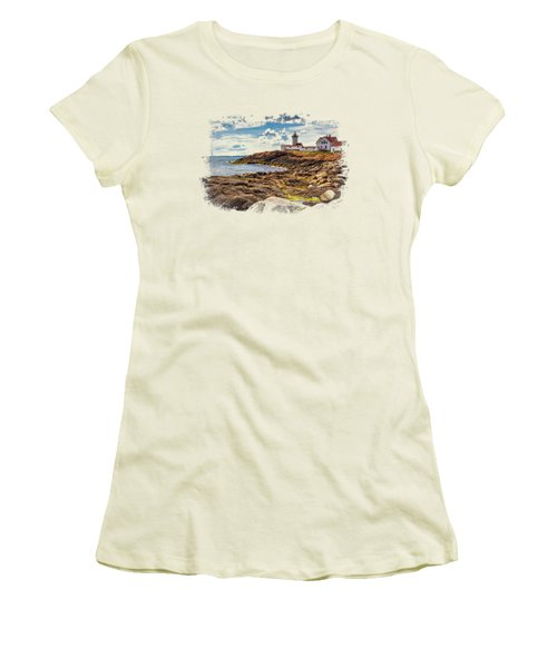 Light On The Sea Women's T-Shirt (Athletic Fit)