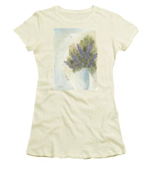 Lilacs Women's T-Shirt (Athletic Fit)