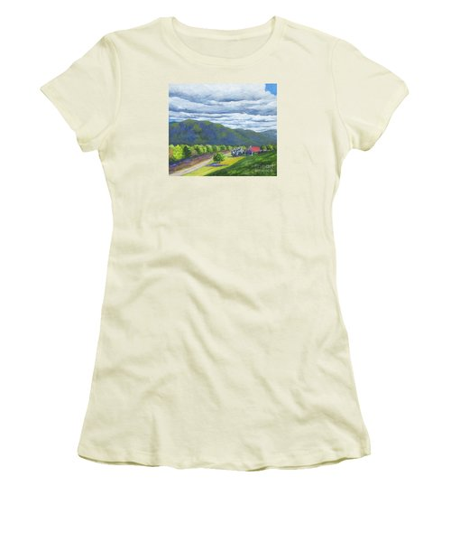 Lil's Place Women's T-Shirt (Junior Cut) by Anne Marie Brown