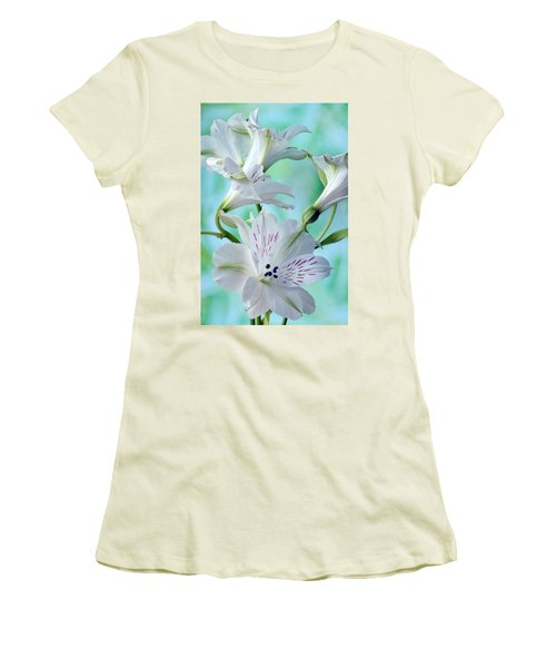 Lily Of The Incas Women's T-Shirt (Junior Cut) by Terence Davis