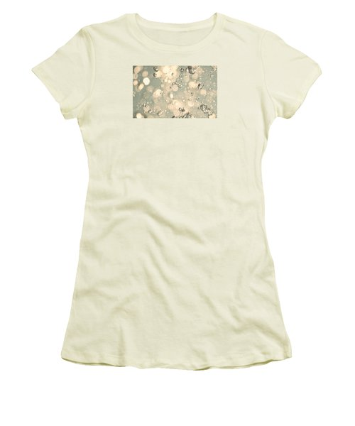 Women's T-Shirt (Junior Cut) featuring the photograph Living Water by The Art Of Marilyn Ridoutt-Greene