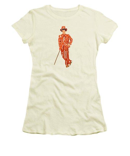 Lloyd Christmas Women's T-Shirt (Junior Cut) by Ayse Deniz