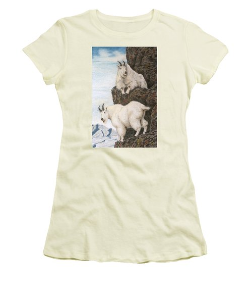Lofty Perch Women's T-Shirt (Athletic Fit)