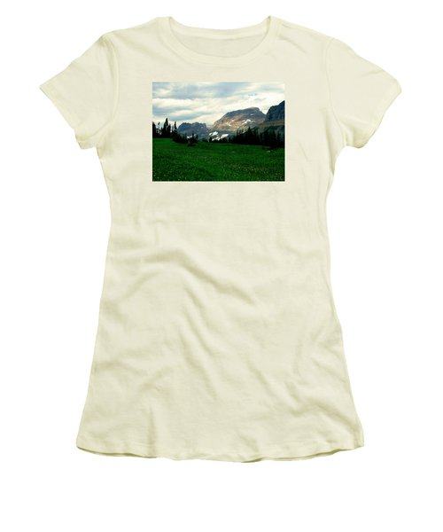 Logan's Pass Women's T-Shirt (Athletic Fit)